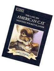 The Lang 2014 American Cat Monthly Pocket Planner