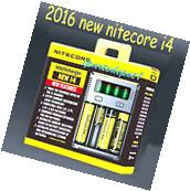 NEW 2016 NITECORE NEW I4 charger For AA AAA 18650 18500 14500 26650