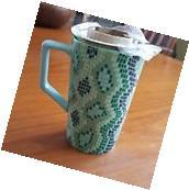 NEW 2016 Starbucks Teavana 12 OZ Cobra mosaic green tea