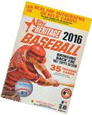 2016 Topps HERITAGE MLB Baseball Factory Sealed Unopened