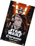 2016 Topps Star Wars The Force Awakens Chrome Factory Sealed