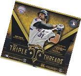 2016 Topps Triple Threads Baseball Factory Sealed Hobby Box
