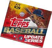2016 Topps Update Series Baseball HTA sealed jumbo box 10