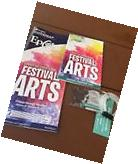 2017 EPCOT Festival Of The Arts Gift Card $0 Map Passport