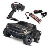 NEW Traxxas 2017 Ford Raptor Slash XL-5 2WD RTR with BLACK