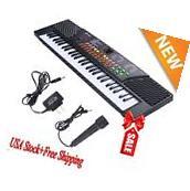 2017 54 Keys Music Electronic Keyboard Kid Electric Piano