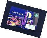 2017 Starbucks Phoenix Card - New