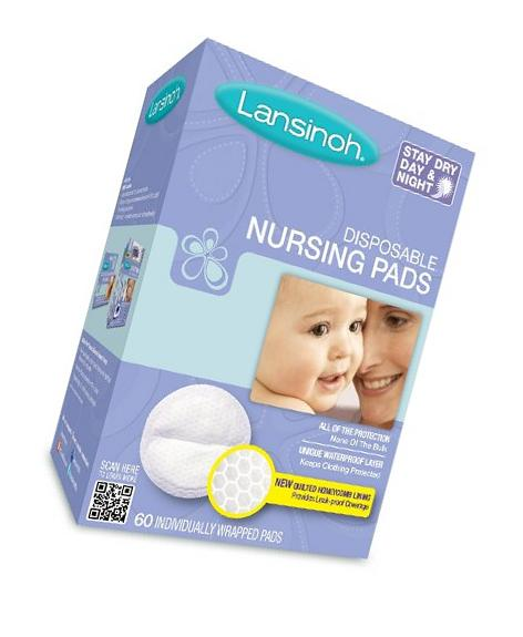 Lansinoh 20265 Disposable Nursing Pads Jumbo Size Package,