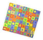 24 Unique Shapes Educational Foam Puzzle Floor Mat for Kids
