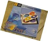 New Case Logic 25 CD Storage Pages for three ring binder-