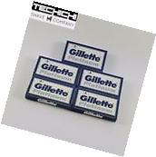 25 Gillette Platinum Double Edge Razor Blades for Shaving