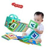 LALABABY 26 Letters Cloth Card with Cloth bag Early