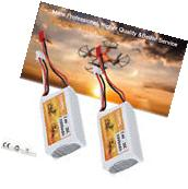 2x7.4V 2S 20C 1000mAh Lipo Battery JST for RC Helicopter