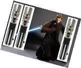 3 Anakin Skywalker Wars Lightsaber Star Force Blue Ultimate