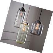 3 bulbs Vintage Industrial ceiling lamp Chandelier Pendant