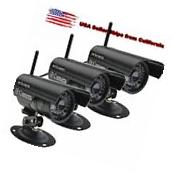 3×HD Home Security IP Camera Wifi Wireless System Internet