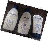 3 AVEENO BABY SOOTHING RELIEF CREAM & WASH - - EXP: 2018  CJ