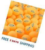 100-Pack 3-Star 40mm Table Tennis Balls