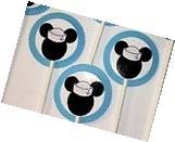 30 NAUTICAL MICKEY MOUSE Cupcake Toppers Birthday Party,
