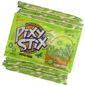 35 Springtime Easter Grass Pixy Stick Candy Filled Fun