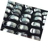wholesale 36 stainless steel men's spinning band rings,