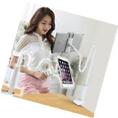 360 Gooseneck Table Bed Wall Mount Stand Holder For iPad