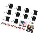 Lot 10 Pcs New 3AA 2A Battery 4.5V Clip Holder Box Case with