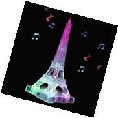 3D Crystal Flash Music Eiffel Tower 3D Puzzle Educational