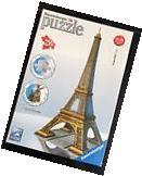Ravensburger 3D La Tour Eiffel- Paris Puzzle New In Box