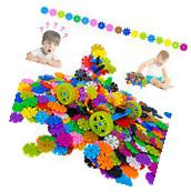 800 pcs 3D Puzzle Number Snowflakes Building Blocks