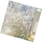 3D Static Privacy Stained Glass Door Window Film Anti UV