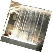 3D Water Cube Design Shower Curtain Bathroom Waterproof