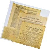 DECLARATION OF INDEPENDENCE + U.S. CONSTITUTION + BILL OF
