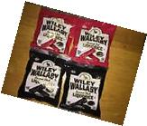 4 Bag Wiley Wallaby Australian Style Gourmet Soft Black &