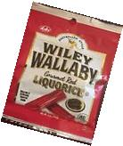 4 Bags Wiley Wallaby Australian Style Gourmet Soft Red Liquorice