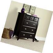 New Sauder 4 Drawer Chest Dresser Bedroom Furniture Clothes