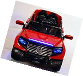 New 4 Door Ride On Toy Car For Kids 12V Battery Operated R/C