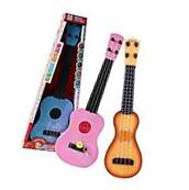 4 Strings Guitar Musical Instrument Development Toy Xmas