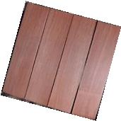 """4 THIN BLOODWOOD BOARDS -1/16"""" thick -lumber/wood/crafts/"""