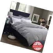 400-Thread-Count 100% Cotton Duvet Cover Set Queen/Full