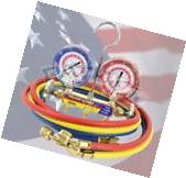 Yellow Jacket 42004 Manifold R410A/R22/R404A with Hoses