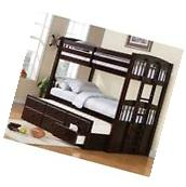 Coaster 460071 Chester Twin Bunk Bed with Ladder NEW