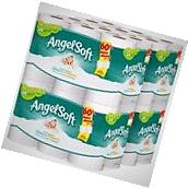 Angel Soft 48 Double Rolls Bath Tissue 12 Count Toilet Paper
