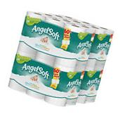 Angel Soft 48 Double Roll Toilet Paper. Bath Tissue 2 Ply
