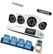 4CH 1500TVL Home Security Camera System 1080N CCTV DVR Kit