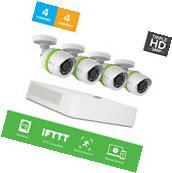EZVIZ 3MP 4CH 1TB DVR Video Security System 4 HD Camera
