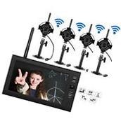 2.4GHz 4CH Wireless DVR Security System HD Video Recorder
