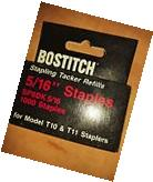 Bostitch 5/16 SP8DK Staples Tacker Refill T10 T11  1000
