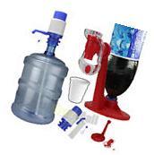 5 & 6 Gallon Hand Pump for Water Bottle Jug Tap Spigot+
