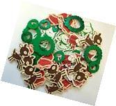 50 Christmas Self Adhesive Foam Shapes Stickers Teacher